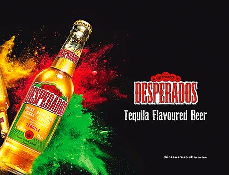 Touch of magic for Desperados