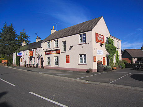 The Horse and Hound near Hawick.
