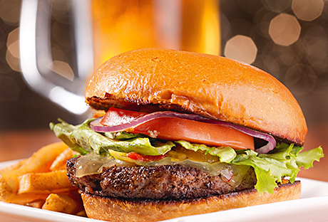 Gourmet 'junk food' is said to be a growing trend amongst consumers.