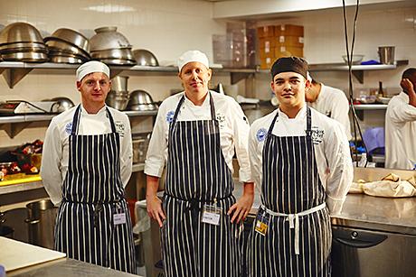 The 2012/13 Brakes Student Chef Team Challenge winners.