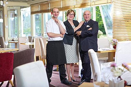 Mark, Pauline and Nico de Freitas.