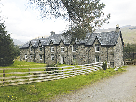 Ewich Guest House in Crianlarich has six letting bedrooms.
