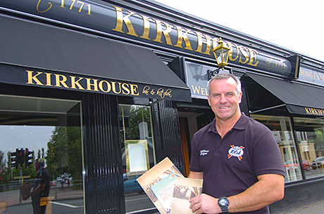 Star Pubs & Bars lessee Frank Healey said trade at the Kirkhouse is up following the revamp.