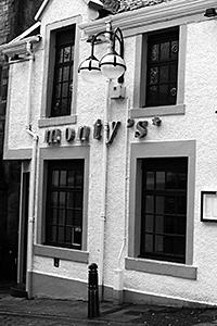 Monty's comprises a pub and rock bar.