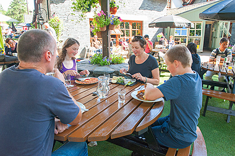 family-friendly dining has always been a key part of the outlet's offer.