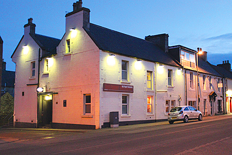 • The Holburn Hotel attracts tourists and locals.