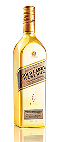 • The limited edition Gold Label.