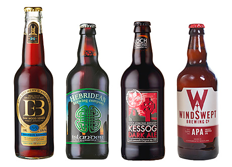 • Some of the beers on offer at Aldi.