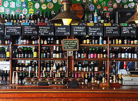 • Beer is a major focus for the owners of The Anderson in Fortrose.