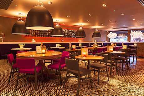 • Glamour and opulence were the watchwords when it came to designing the new-look Lido