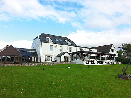 Businesses on the agent's books include Lochnell Arms Hotel near Oban (above) which is now under offer.