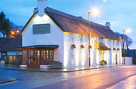 • Souter's Inn was devastated by fire in 2012. The venue re-opened following a full refurbishment.