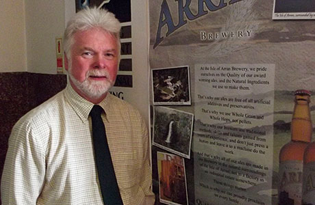 Arran MD Gerald Michaluk.