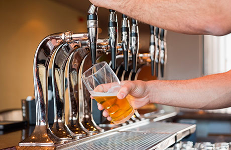 When it comes to the perfect pint, delivery is just as important as taste, brewers say.