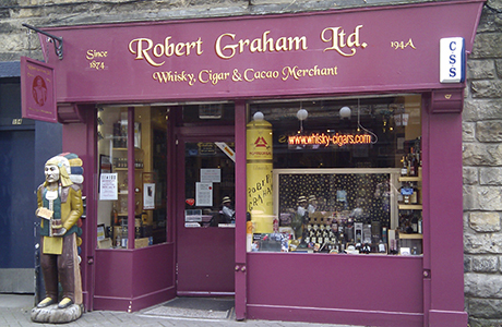 • The specialist retailer's store in Rose Street, Edinburgh, is among five outlets which were sold.