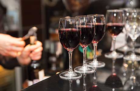 • Wine suppliers said publicans should promote their range prominently throughout the venue.