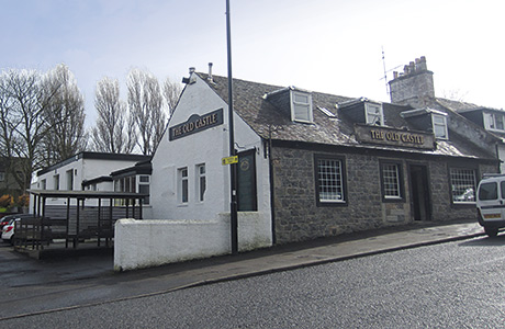 The Old Castle bar and restaurant