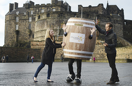 • The app guides users on a route through Edinburgh which passes the city's famous landmarks.