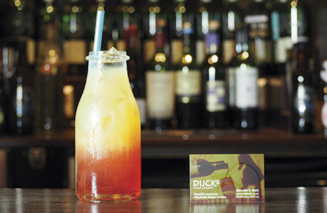 • Ducks mixologist Alan Walker has mixed up a range of alcohol-free cocktails for the rural venue.
