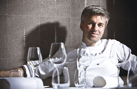 • Martin Wishart (above) has recently opened The Honours Glasgow which will have an emphasis on the grill.