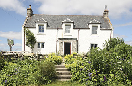 • The Crask Inn near Lairg currently operates as a bar, accommodation business and smallholding.