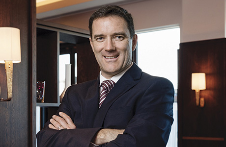 • Steve Cassidy said Hilton is committed to growing its Scottish estate.• Steve Cassidy said Hilton is committed to growing its Scottish estate.