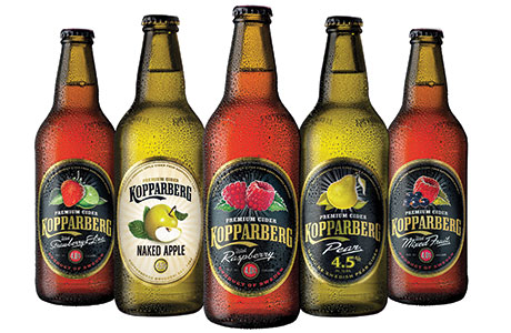 • Demand for packaged cider in the Scottish on-trade remains strong, according to Kopparberg.