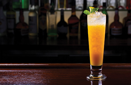 • Gin is equally popular in classics such as the Tom Collins as well as newer, experimental drinks.