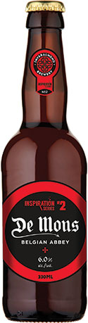 • The beer was inspired by Belgian brews.