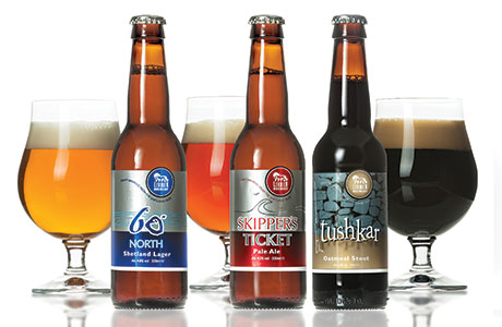 • Lerwick Brewery's selection of beers will now join Ooberstock's range of products.