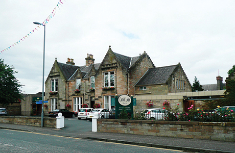 The seven-bedroom Carrick Lodge Hotel.