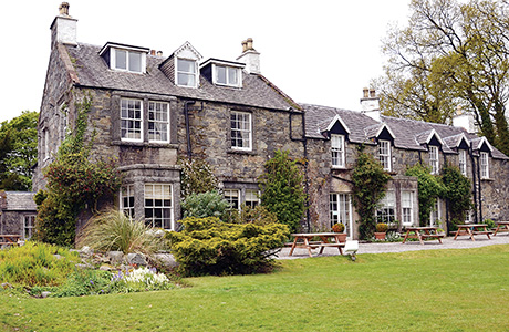 The Creebridge House Hotel in Newton Stewart is among the properties to have changed hands.