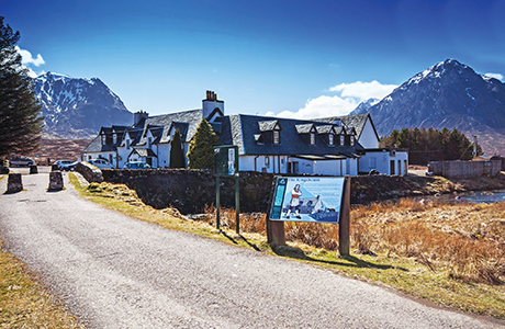 • Fit for a king: The Kings House Hotel in Glencoe was successfully sold by Christie & Co in 2014.
