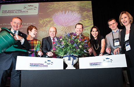 • The events will include the Scottish Tourism Alliance's Tourism Vision conference on March 4.