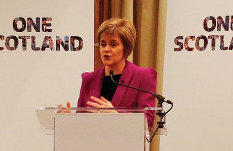 • Sturgeon will address conference.