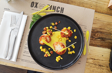 Ox and Finch - Food Shot #13