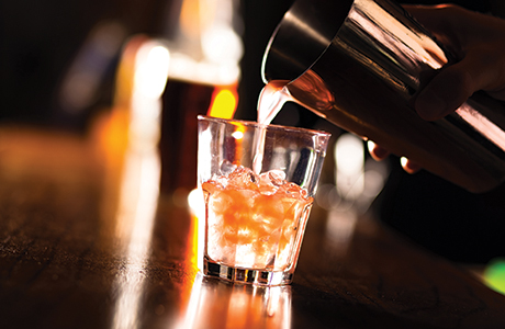 shutterstock_pouring cocktail