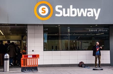 Subway shutterstock