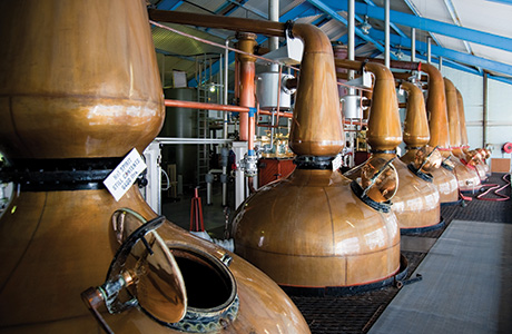 Visitors spent almost £50 million at whisky distillery attractions last year.