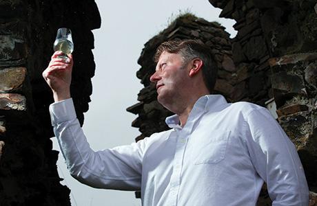 Raising a toast: R&B Distillers' managing director Alasdair Day.