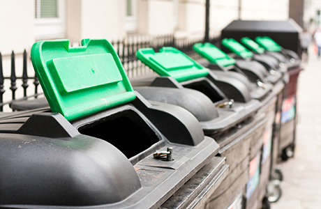 Commercial wheelie bins