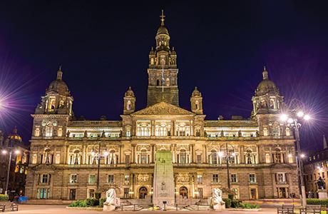 shutterstock_Glasgow City Chambers