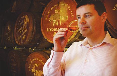 Euan Mitchell, Arran Distillers