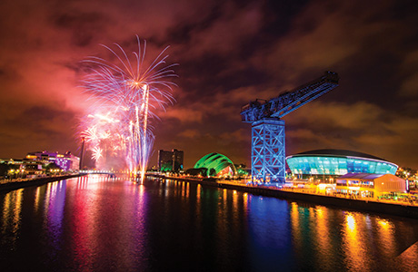 Glasgow took centre stage last year as host of the Commonwealth Games.