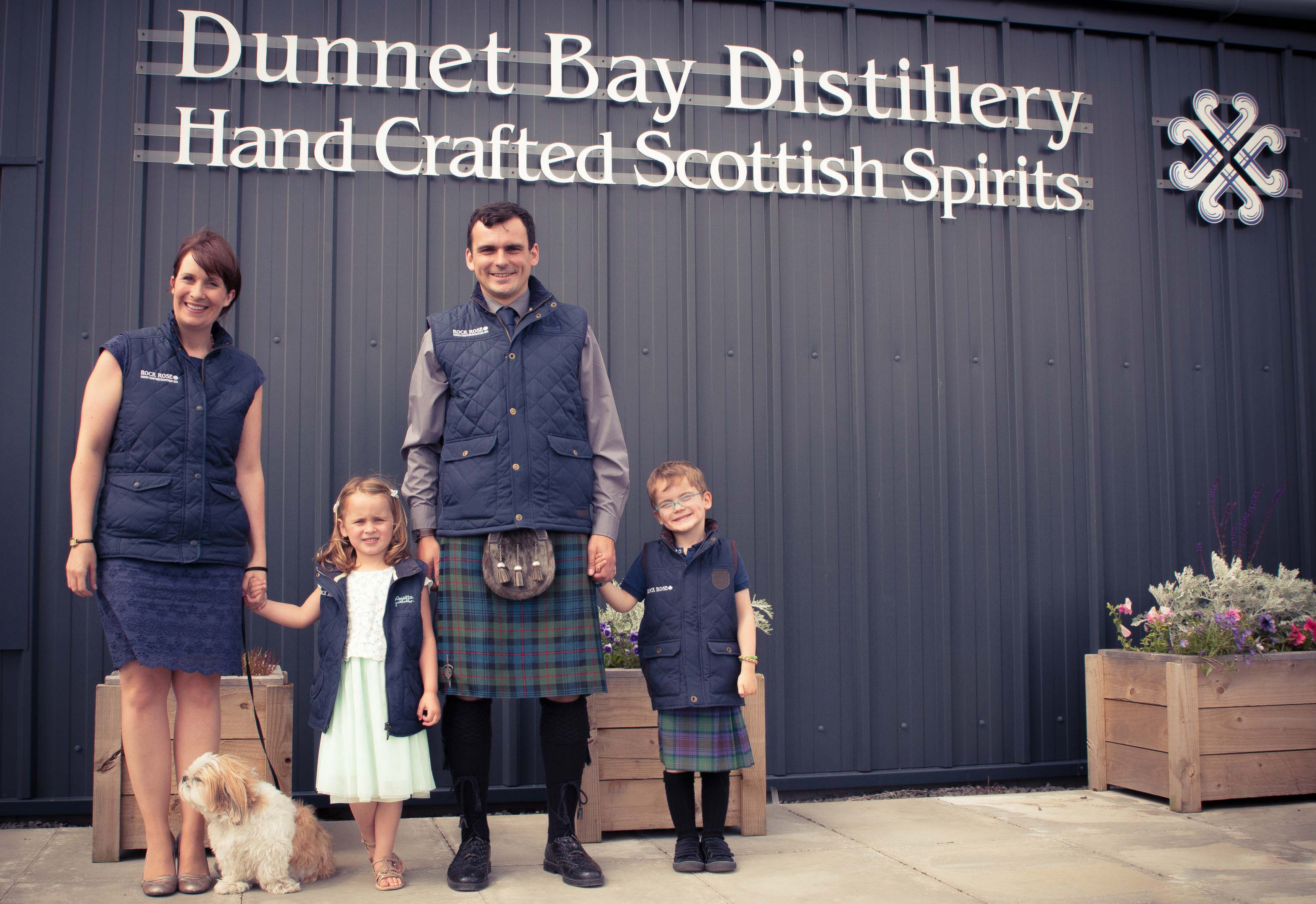 Martin and Claire Murray launched Dunnet Bay Distillery last year