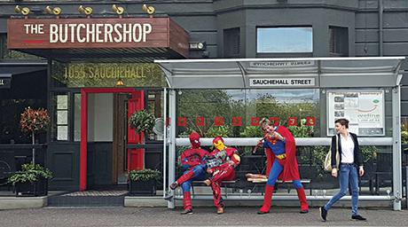 Butchershop superheroes