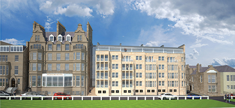 Macdonaxld Rusack Hotel proposed extension view [3]