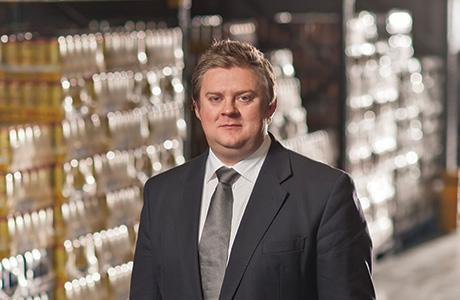 Simon Hannah, Managing Director of Filshill,Hillington  Picture By Martin Hunter