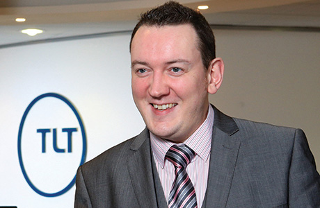 Stephen MGowan at the TLT Bristol offices