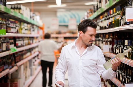 Supermarket alcohol copy